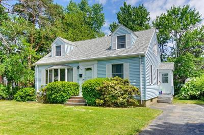 Arlington MA Single Family Home Under Agreement: $569,900