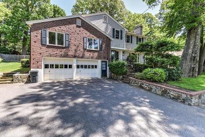 Needham Single Family Home Under Agreement: 14 Melrose Ave.