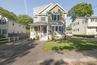 Braintree Single Family Home For Sale: 44 Plymouth Ave