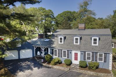 Cohasset Single Family Home Under Agreement: 26 Ledge Way