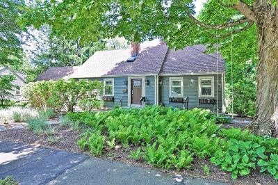 Wellesley Single Family Home Under Agreement: 41 Wall St
