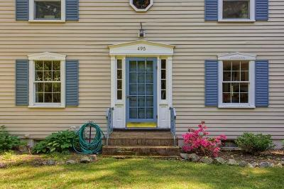 Wenham, Hamilton Single Family Home Under Agreement: 495 Bay Road