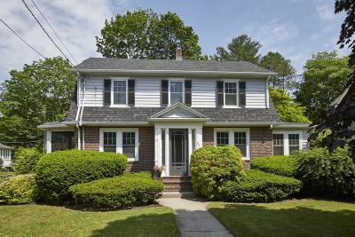 Needham Single Family Home Under Agreement: 832 Webster St
