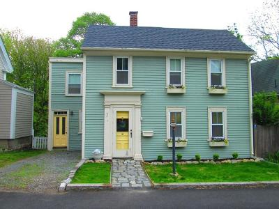 Rockport Single Family Home For Sale: 7 Granite Street