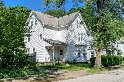 Watertown MA Single Family Home Under Agreement: $749,000