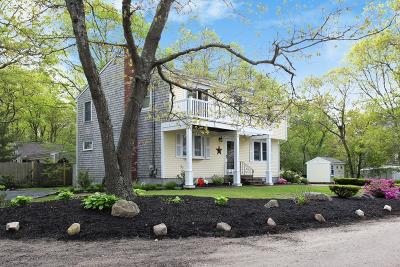 MA-Barnstable County Single Family Home For Sale: 172 Edgewater Dr West