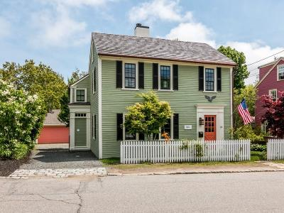 Rockport Single Family Home Under Agreement: 33 High Street