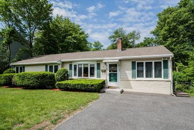 Framingham Single Family Home Under Agreement: 8 Lilian Rd Ext