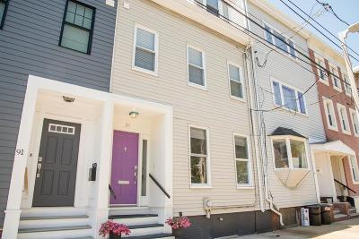 Boston Single Family Home Under Agreement: 89 Baxter