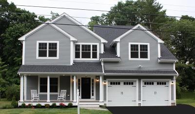 Needham Single Family Home For Sale: 67 Evelyn Road