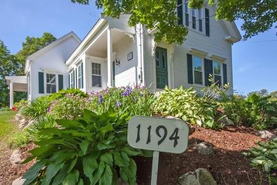 Hanover Single Family Home Under Agreement: 1194 Broadway