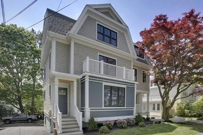 Brookline Single Family Home For Sale: 663 Chestnut Hill Ave