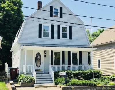 Middleboro Single Family Home Contingent: 174 Center Ave