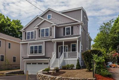 Arlington MA Single Family Home Under Agreement: $1,499,000