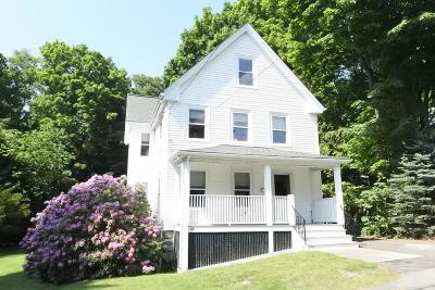Wellesley Single Family Home Contingent: 68 Crest Road