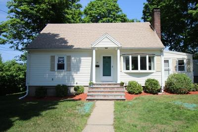 Woburn Single Family Home Under Agreement: 16-R Ward St