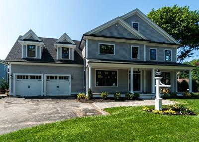 Waltham Single Family Home Under Agreement: 190 Lyman Street