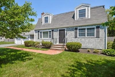 Marshfield Single Family Home Under Agreement: 7 Gratto Road
