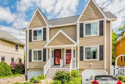 Watertown Condo/Townhouse Under Agreement: 69 Morse Street #69