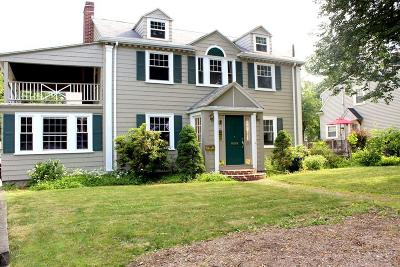 Needham Single Family Home For Sale: 1253 Great Plain Avenue