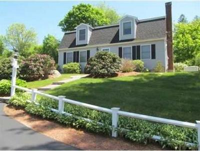 Cohasset MA Single Family Home For Sale: $699,900