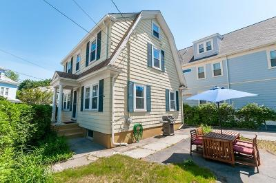 Watertown MA Single Family Home Under Agreement: $599,000