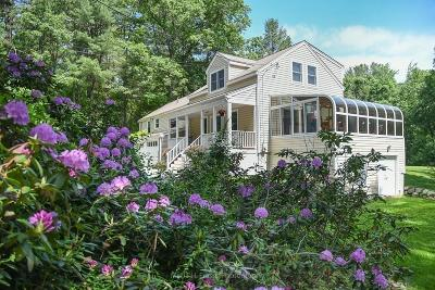 Sudbury Single Family Home Contingent: 32 Old Lancaster Rd