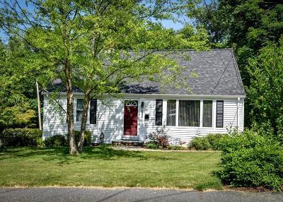 Natick Single Family Home Under Agreement: 13 Terrace Rd.