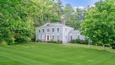 Holliston Single Family Home Under Agreement: 10 Winston Rd