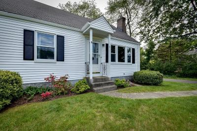 Natick Single Family Home Under Agreement: 11 Green St