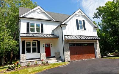 Needham Single Family Home For Sale: 456 Chestnut Street