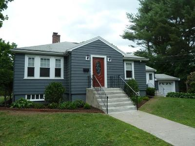 Waltham Single Family Home Contingent: 11 Roberts Road