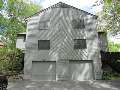 Condo/Townhouse Sold: 187 Leland Farm Rd #187