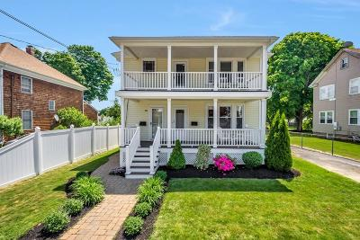 Weymouth Multi Family Home Under Agreement: 38-40 Standish St
