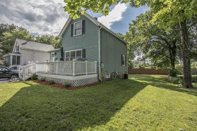 Mansfield Single Family Home Under Agreement: 98 Oakland St