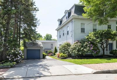 Cambridge Multi Family Home Under Agreement: 46-46r Mount Vernon Street