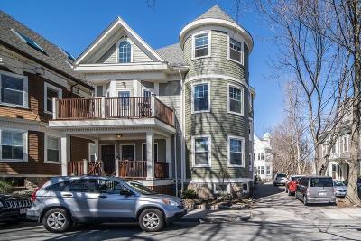 Brookline Condo/Townhouse Under Agreement: 27 Harvard Ave #2