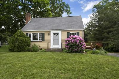 Norwell Single Family Home Under Agreement: 19 Gerard Rd.