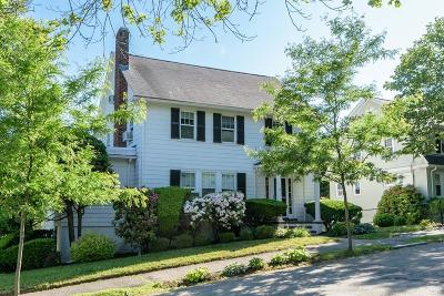 Brookline Single Family Home Under Agreement: 18 Somerset Rd