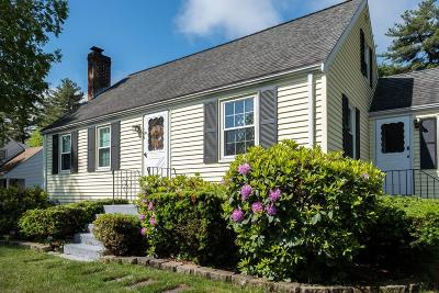 Holbrook Single Family Home Under Agreement: 159 Sycamore St