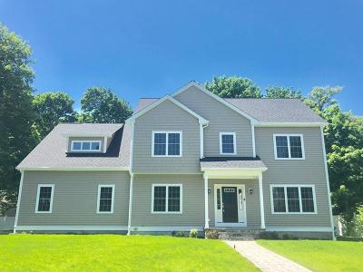 Natick Single Family Home For Sale: 8 Whittier Road