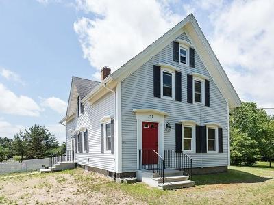 Carver Single Family Home For Sale: 291 Meadow St