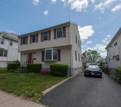 Watertown MA Single Family Home Under Agreement: $689,000