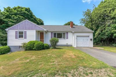 Braintree Single Family Home Under Agreement: 260 Hayward St