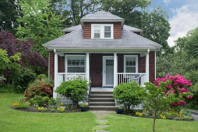 Wellesley Single Family Home For Sale: 42 Riverdale Road