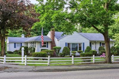 Peabody Single Family Home Under Agreement: 693 Lowell St
