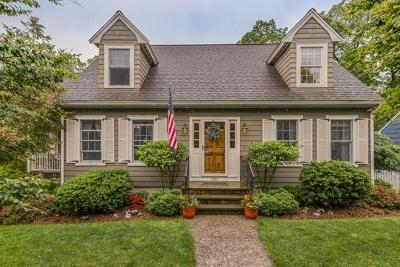 Melrose Single Family Home Under Agreement: 191 Baystate Road