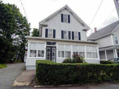 Quincy Multi Family Home Under Agreement: 112-114 Hall Pl