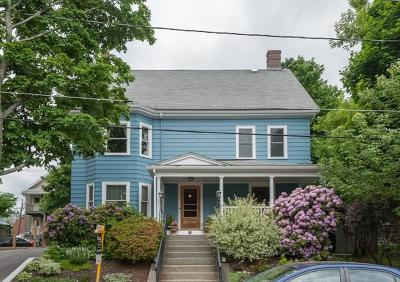 Belmont Single Family Home Price Changed: 12 Springfield St