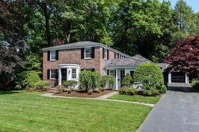 Wellesley Single Family Home Contingent: 14 Park Avenue
